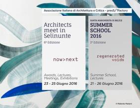 Architects meet in Selinunte 2016 | now>next