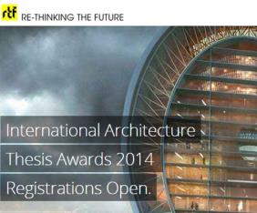 International Architecture RTF Sustainability award 2014 New Delhi